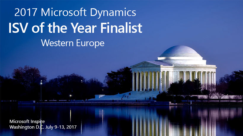 2017 Microsoft Dynamics ISV of the Year