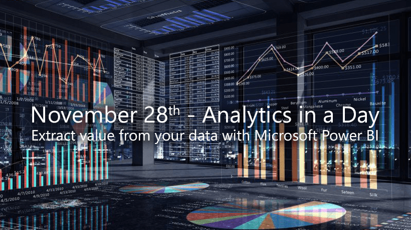 Novembre 28th, 2017 - Microsoft House, Viale Pasubio 21, Milan. Discover with Porini what you can do with Power BI Desktop and Power BI services.