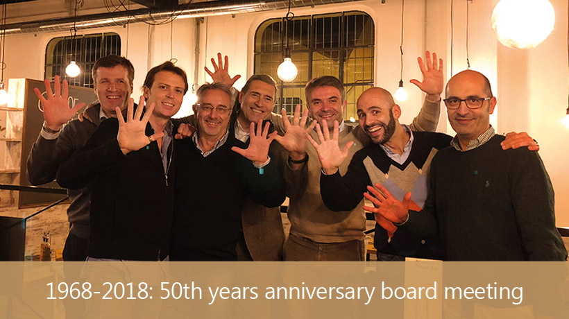 1968-2018: 50th years anniversary board meeting