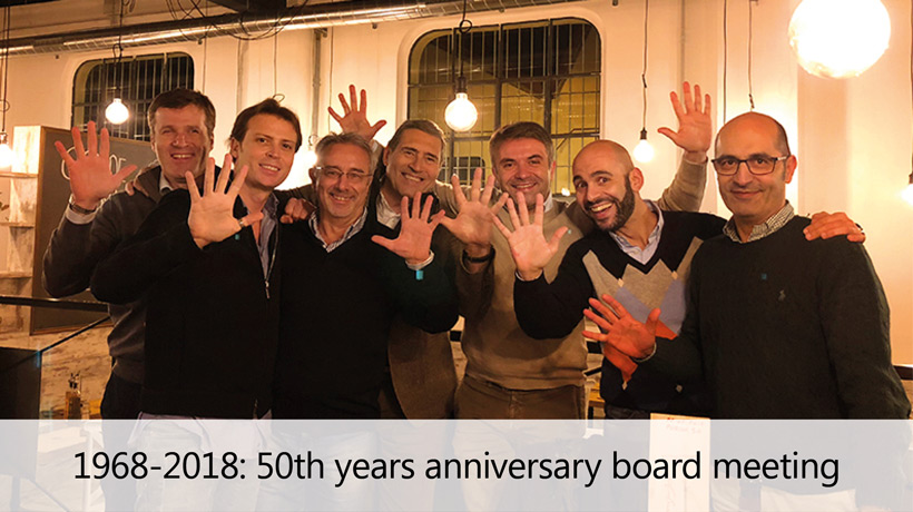 1968-2018: 50th years anniversary board meeting