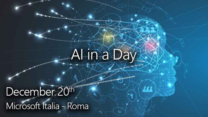 A day dedicated to get to know Azure AI Platform and the main models of Artificial Intelligence, touching its applications through laboratories.