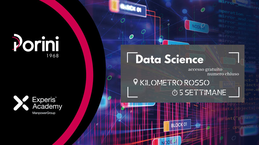 PORINI WITH EXPERIS ACADEMY: DATA SCIENCE COURSE
