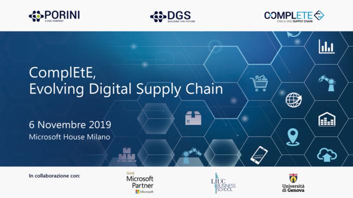 ComplEtE Evolving Digital Supply Chain