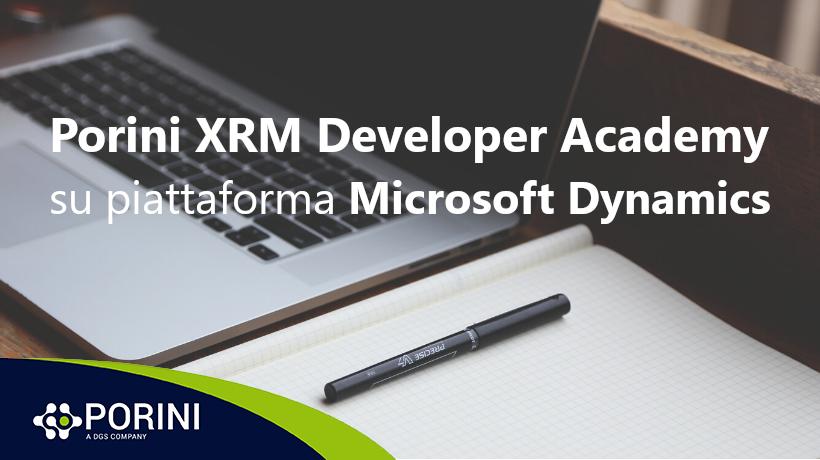 Porini XRM Developer Academy