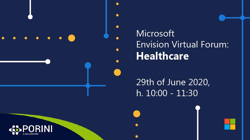 Microsoft Envision Virtual Forum: Healthcare